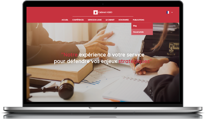 Exemple de site Avocalix